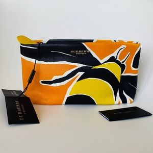 Authentic Burberry Prorsum Insect Clutch New